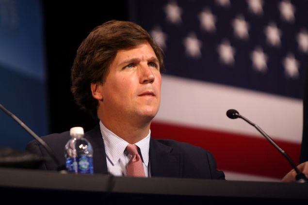 Conservative pundit Tucker Carlson now serves as editor in chief of The Daily Caller.