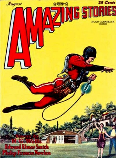 The comic that Buck Rogers first appeared in (pictured is The Skylark of Space).
