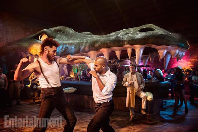 A still from Starz 'American Gods'