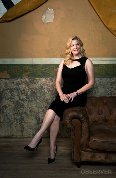 Anna Gunn says many of the characters she's played have issues that parallel her own.