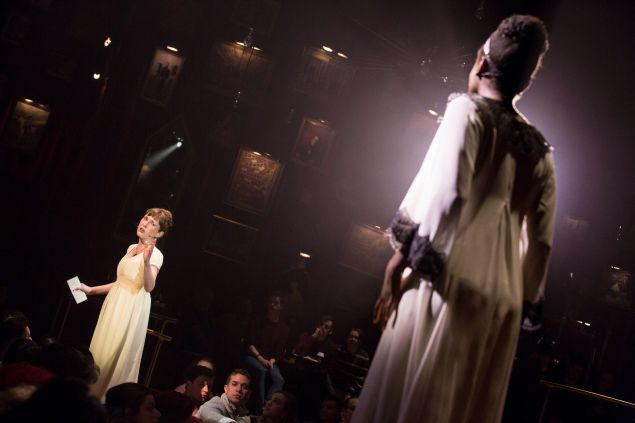 Brittain Ashford and Denée Benton in NATASHA, Pierre and the Great Comet of 1812.