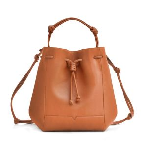 This bucket bag is a favorite for von Holzhausen's founder.