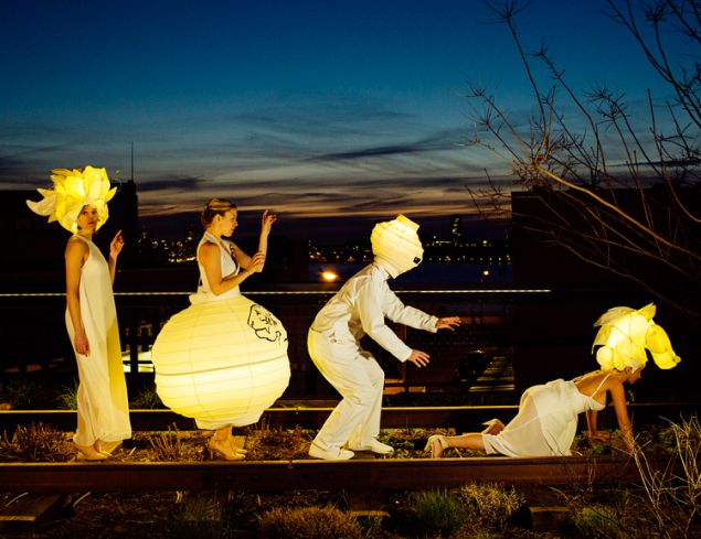 Up Late on the High Line will feature performance art, music and other hidden surprises.