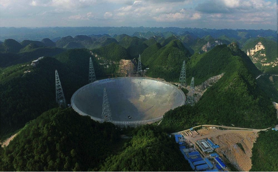 FAST, the world's largest and most powerful radio telescope