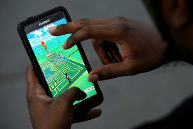 Your brain may suffer if you stare at your phone too long while chasing Charzard.