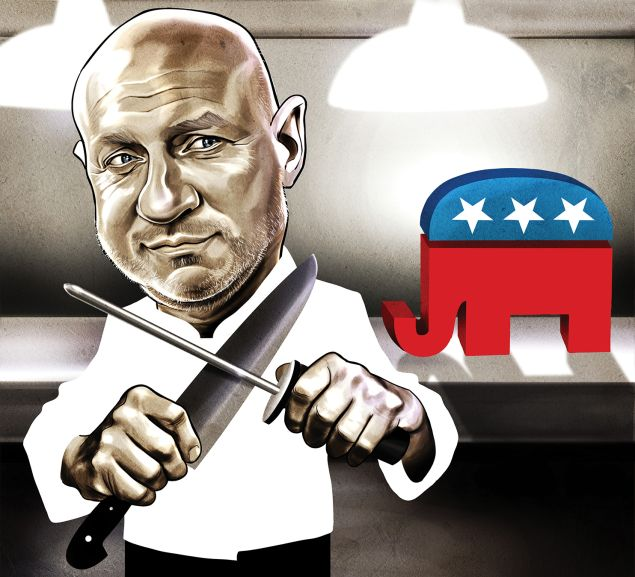 Chef Tom Colicchio talks the election and the food crisis in America.