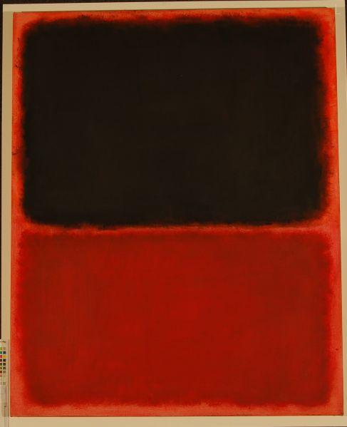 The fake Rothko sold to Domenico and Eleanore de Sole.