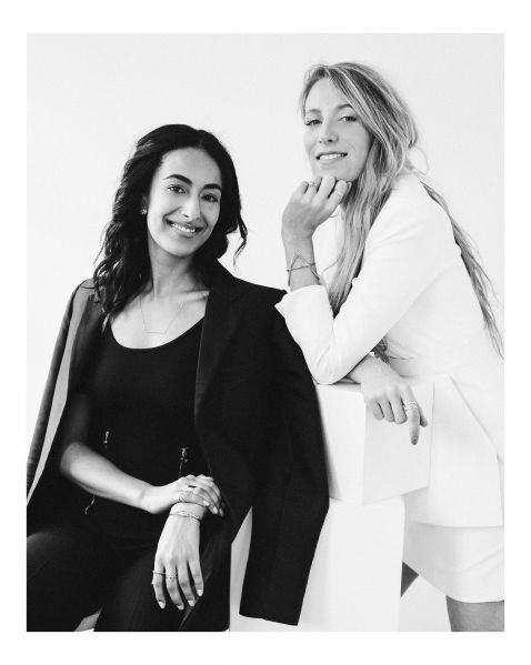 AUrate founders, Sophie Kahn and Bouchra Ezzahraoui, will host von Holzhausen and Cienne in their Soho pop-up.