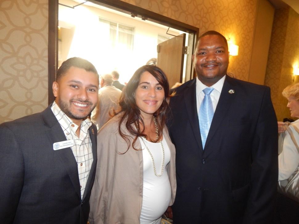 Mukherji, state Senator M. Teresa Ruiz (D-29), and Atlantic City Councilman Marty Small.