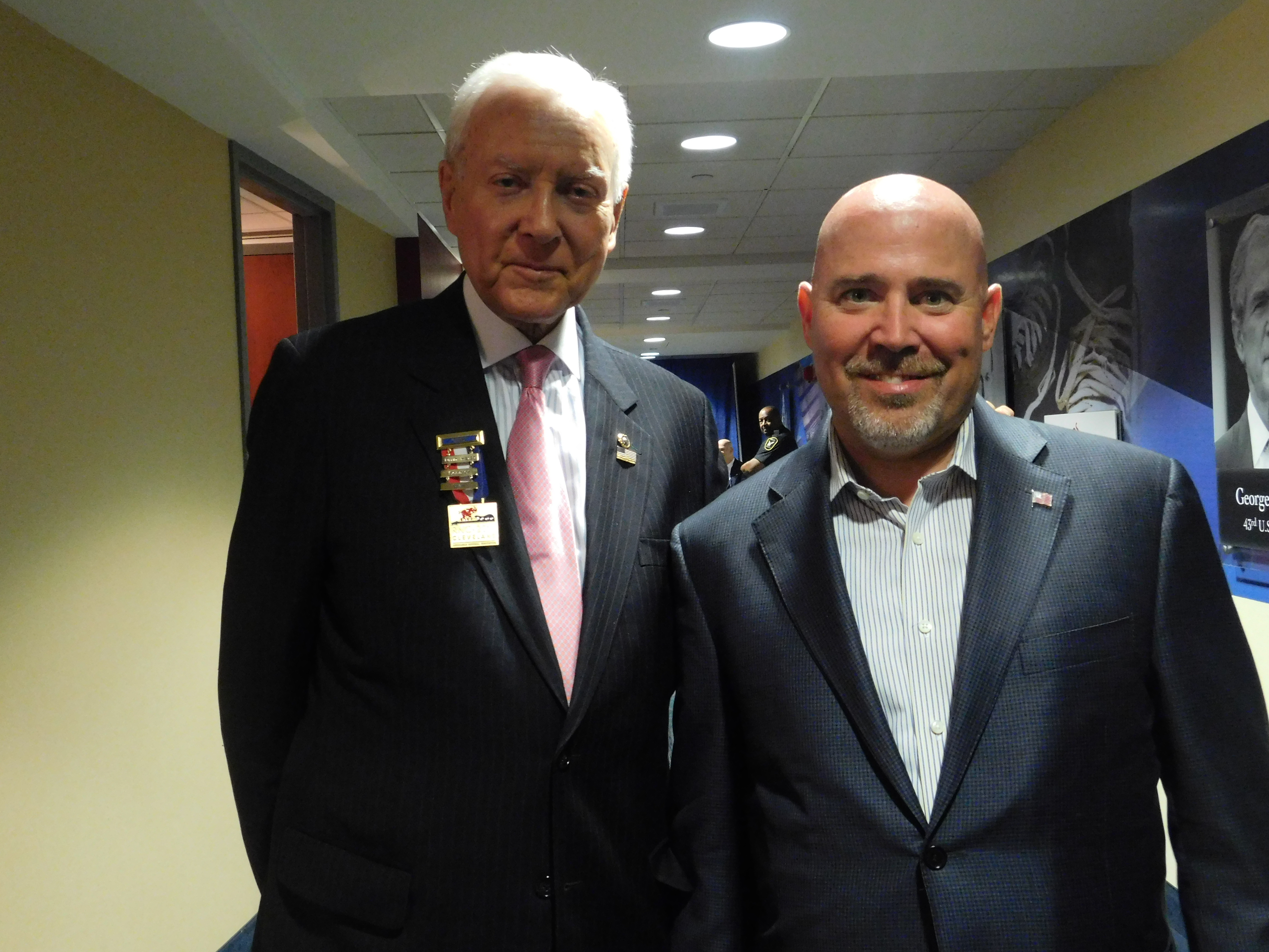 MacArthur and Hatch at the RNC.
