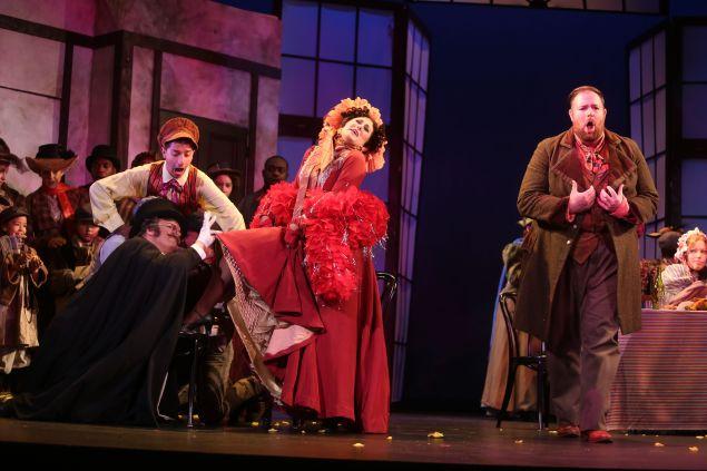 Claire Coolen's Musetta dazzles in Prelude to Performance's La Boheme