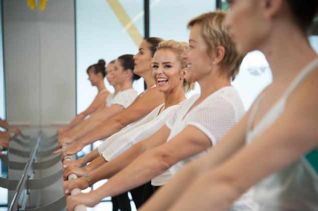 A typical Xtend barre class.