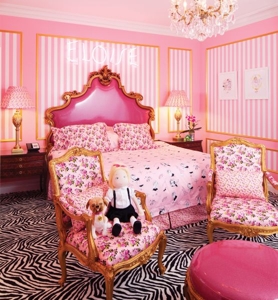 The Eloise Suite at the Plaza Hotel is pretty much every what dreams are made of.