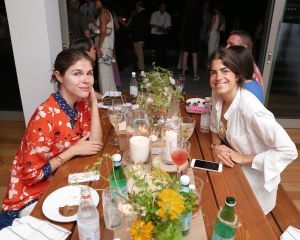 Emily Weiss and Leandra Medine attended the gourmet event.