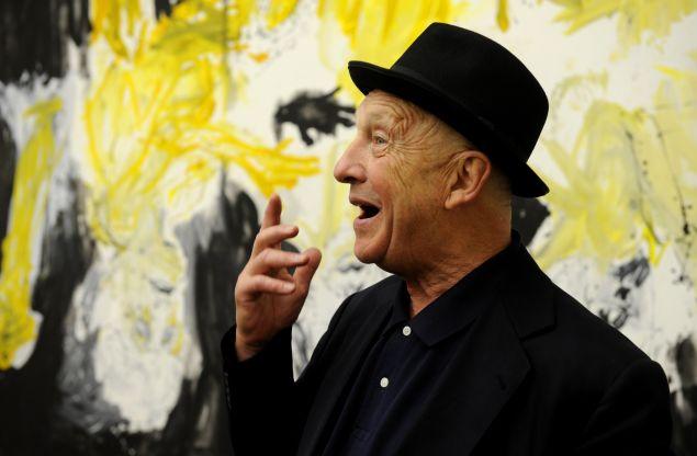 German artist Georg Baselitz parted ways with his Chelsea loft.