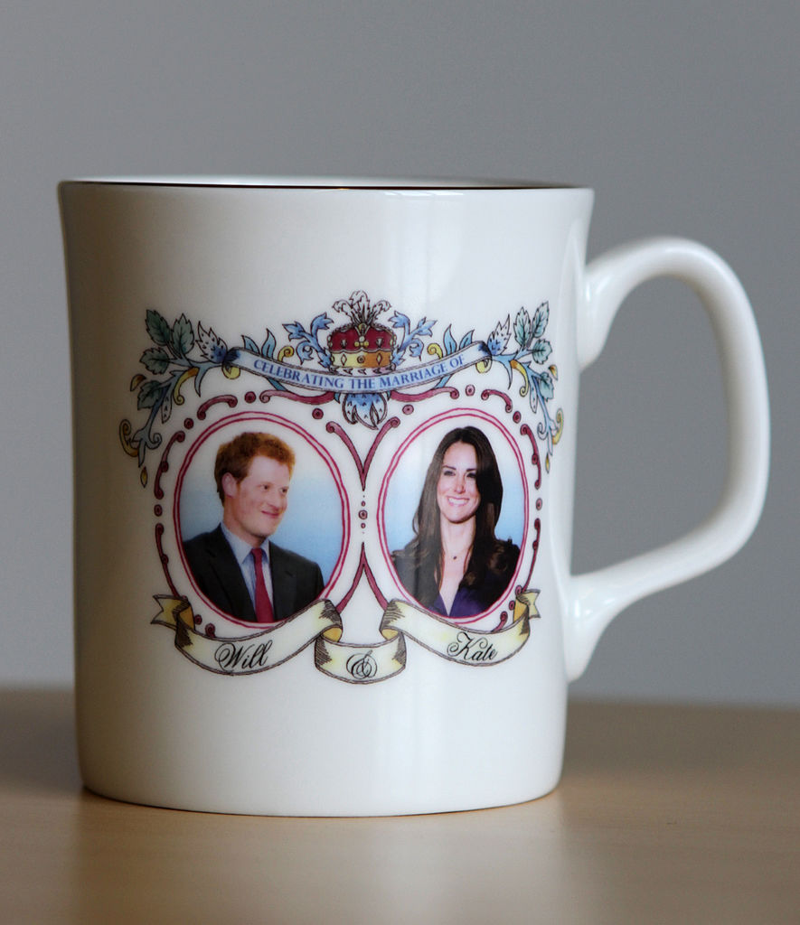 Nothing says forever quite like a commemorative mug.