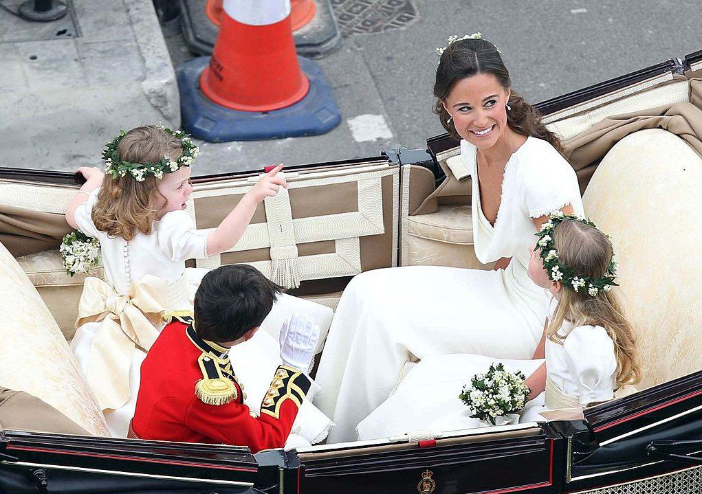 It definitely looks like Pippa already had a wedding.