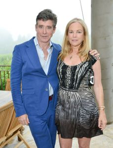 Jay McInerney and Anne Hearst.
