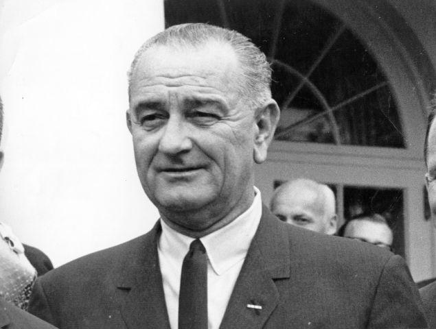 Lyndon Johnson: pin guy.