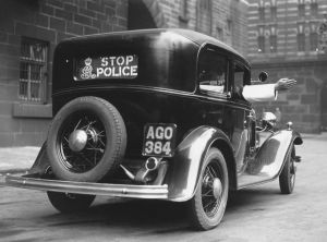 early police car