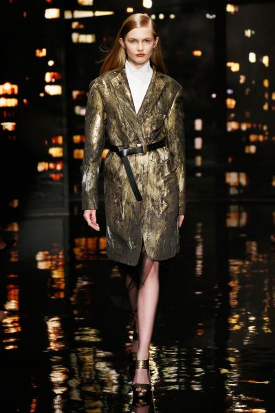 A look from Donna Karan New York's final collection