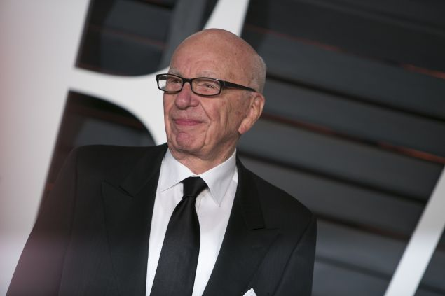 Rupert Murdoch has something to celebrate this week!