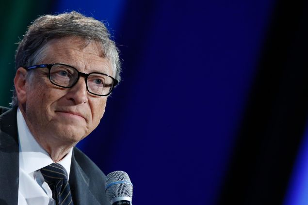 NEW YORK, NY - SEPTEMBER 27:  Bill Gates attends the Plenary Session: Investing in Prevention and Resilient Health Systems during the second day of the 2015 Clinton Global Initiative's Annual Meeting at the Sheraton New York Hotel & Towers on September 27, 2015 in New York City.