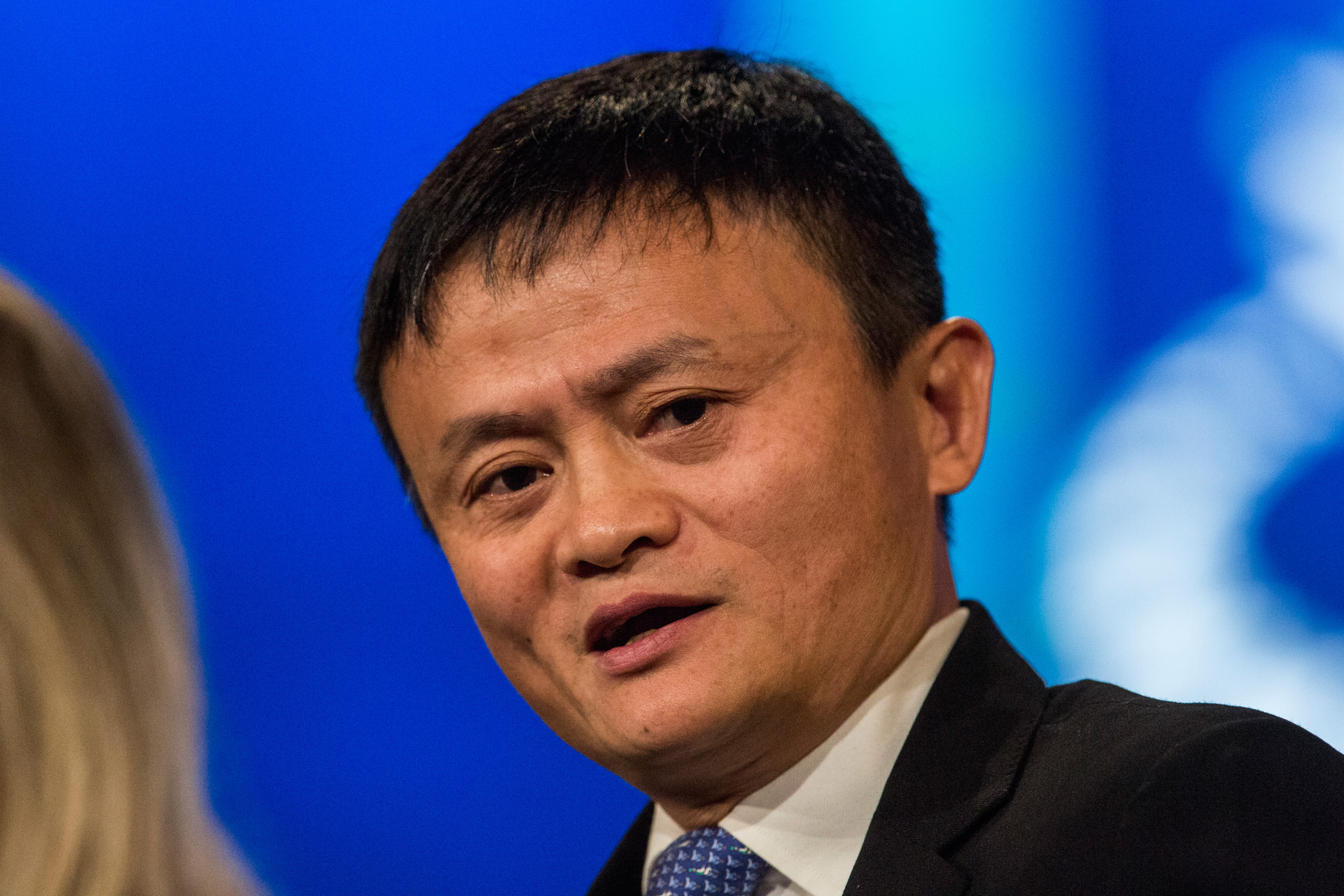 Alibaba founder and CEO Jack Ma, ready to correct me.