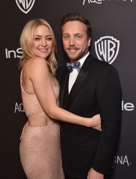 Kate Hudson and InStyle Editorial Director Ariel Foxman