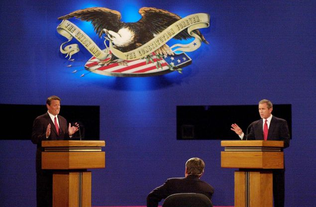 Gore and Bush Debate