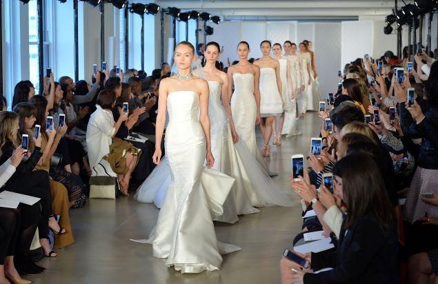 The Oscar De La Renta Bridal Spring/Summer 2017 Runway Show