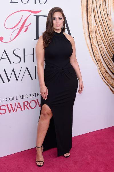 Ashley Graham at the CFDA Awards