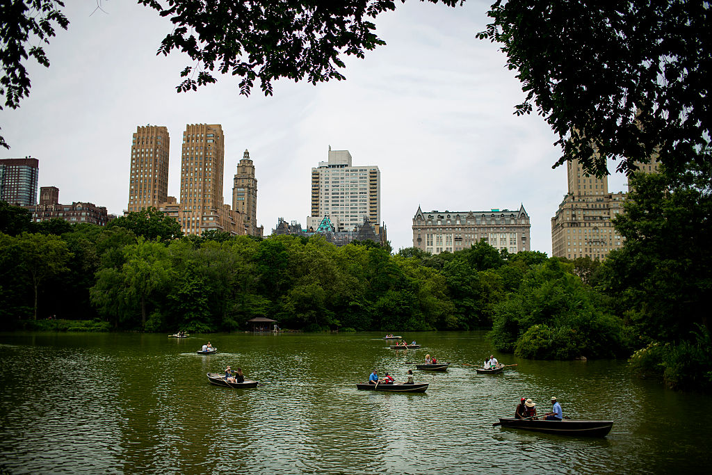 Send the nanny to Central Park with
