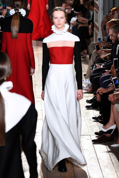 A look from Valentino's recent Couture range