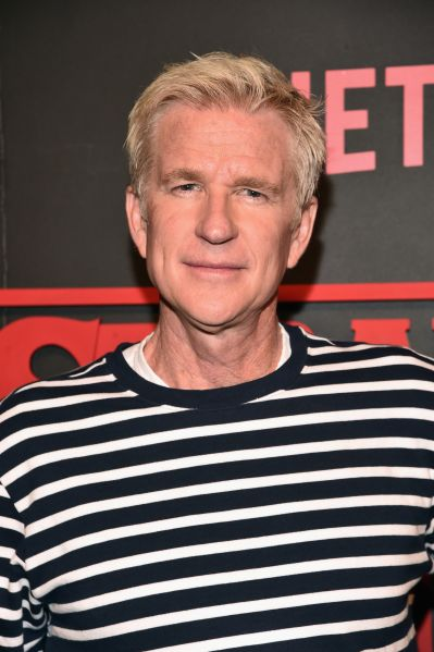 Matthew Modine at the premiere of Netflix's Stranger Things.