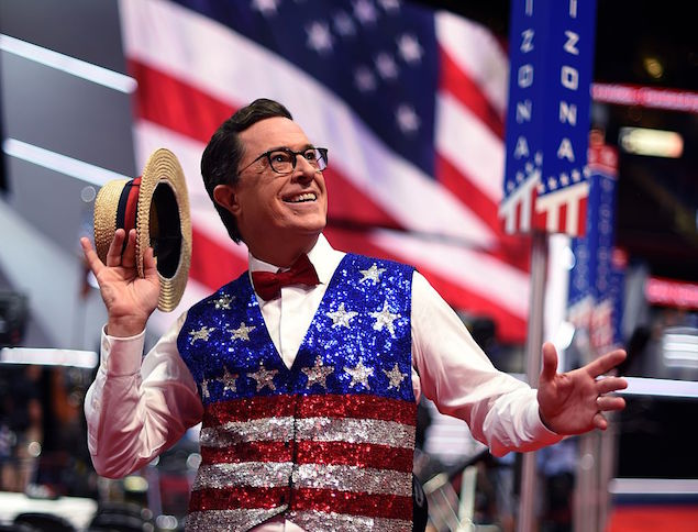 Welcome back, Mr. Colbert