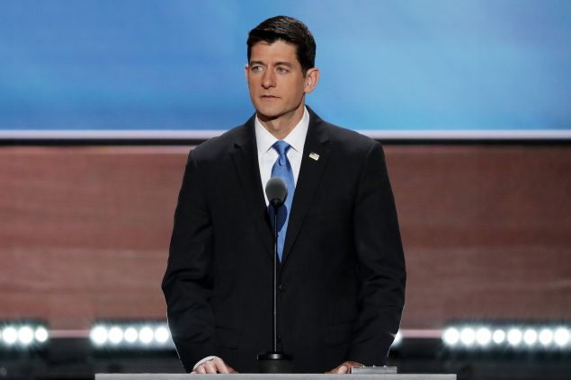 Speaker of the House Paul Ryan.