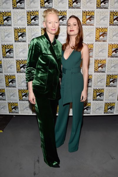 Tilda Swinton and Brie Larson