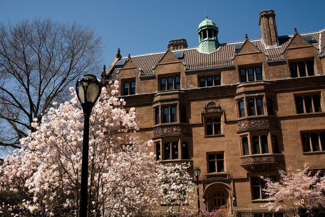 Yale University April 16, 2008 in New Haven, Connecticut.