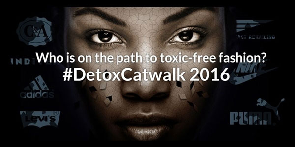 Greenpeace's detox fashion campaign is in its third year.