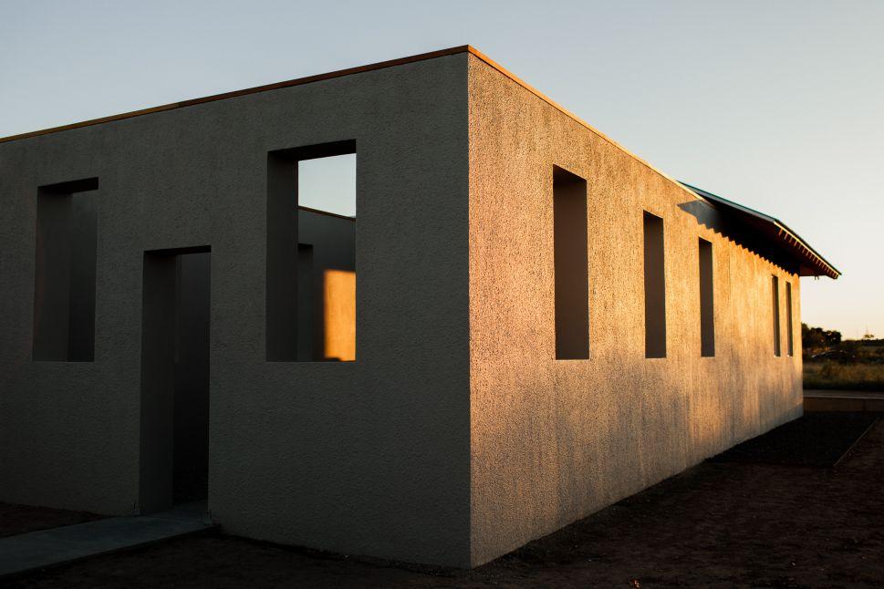Robert Irwin's 10,000 sq ft installation in Marfa, Texas