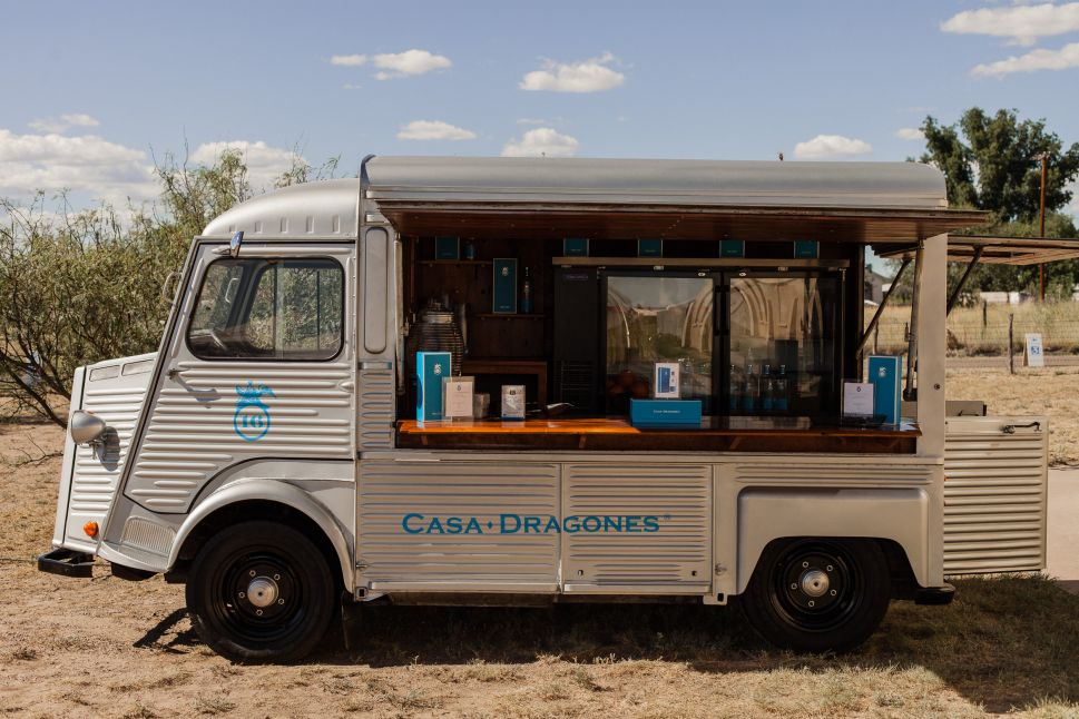 The Casa Dragones mobile bar