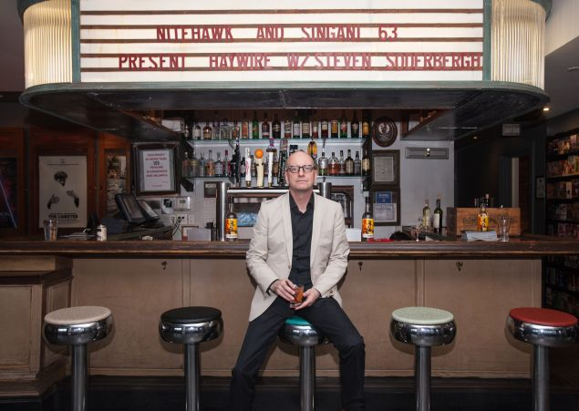 """Steven Soderbergh was one of three Best Directors to stop by Nitehawk in mid-July. He gave a Q and A after a screening of his 2011 action film """"Haywire."""""""