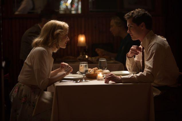 Sarah Gadon and Logan Lerman in Indignation.