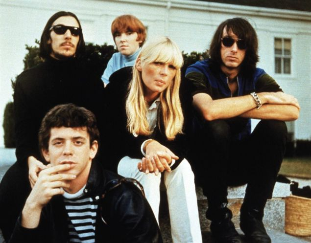 Lou Reed with The Velvet Underground and Nico.