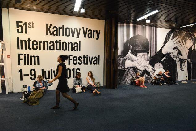 The Karlovy Vary International Film Festival.