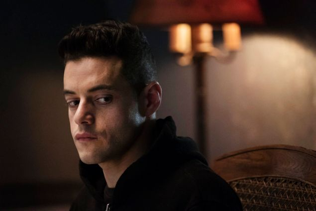 Rami Malek as Eliot Alderson.
