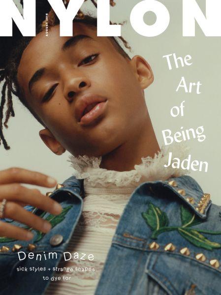 Jaden Smith's Nylon cover
