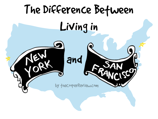 New York City vs. San Francisco