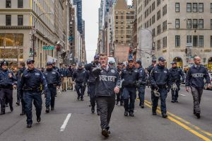 The NYPD will receive $7.4 million in protective gear.